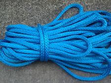 """85' of 1/2"""" AmSteel Blue Dyneema SK-78 Samson Rope 30,600lb Minimum Tensile"""