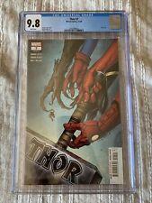 Thor #7 CGC 9.8 First Adam Aziz Thor Mjolnir Thor #733 Marvel Comics