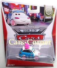 Disney Pixar Cars 2 Suki el pequeño Drift Cars de Tokyo-nuevo & OVP
