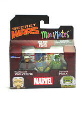 Marvel Minimates Wastelands Wolverine & Dystopia Hulk Series 21 Toys-R-Us New