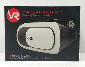 Tzumi VR Virtual Reality Smartphone Headset 360 Degree Video Compatibility