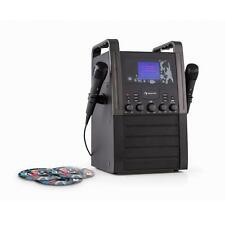 Karaoke Anlage Maschine Set CD Player TFT Farbdisplay Stereo Lautsprecher mit CD