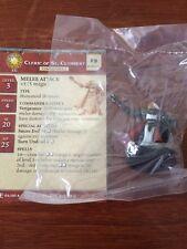 Cleric of St. Cuthbert D&D Miniature Dungeons Dragons paladin pathfinder human