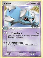 METANG 43/101 EX Hidden Legends ITALIAN Reverse Non-Holo Pokemon Card  MINT