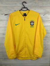 Brazil Brasil Training Sweater Pullover Size L Jacket Nike Football Soccer