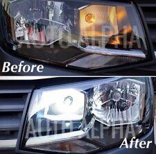 VW TRANSPORTER T5 T6 LED XENON BRIGHT WHITE DAYTIME RUNNING LIGHT DRL BULBS