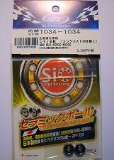 ZPI BOUSEI SiC Ball Bearings 3x10x4 / 3x10x4 mm - ABU, Daiwa, Shimano