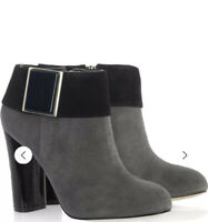 Tory Burch Black Suede  Buckle women Bootie size 11