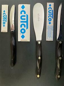 Original Early 90's Cutco Brand Knife Set - 8pc Set - Scissors - Knives - Soup