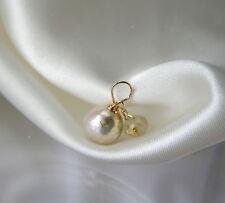 Natürliche Echtschmuck-Halsketten & -Anhänger aus Gelbgold Glück