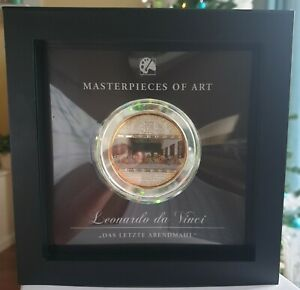 Masterpieces of Art, Silbermünze Leonardo da Vinci Das letzte Abendmahl