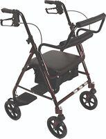 Drive Duet Rollator Walker Transport Chair 2 In 1