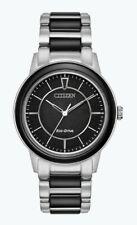 Citizen Eco-Drive Women's Chandler Two-Tone Ceramic Band 36mm Watch EM0741-51E