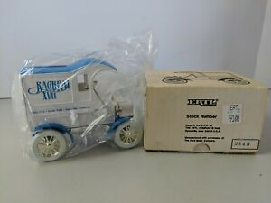 Ertl Ford 1905 Delivery Van Ragbrai XVII 1989  # 9108 Die Cast Coin Bank (MIB)