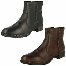 Rieker Low Heel (0.5-1.5 in.) Zip Boots for Women