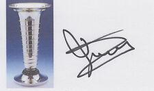 Formula One 1982 Champ Keke Rosberg SIGNED 3x5 CARD