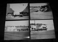 Original Press Kit 8x10 TRACK OF THUNDER Stock Car Classic FIRE SQUENCE