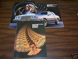 1982 BUICK ALL MODELS, HUGE 68-Page DELUXE BROCHURE / 82 CATALOG