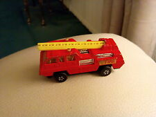 MATCHBOX SUPERFAST NO 22 BLAZE BUSTER LESNEY PRODUCTS 1975