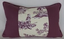 Manuel Canovas La Musardier Fabric Pillow Cushion Shabby Chic French Toile