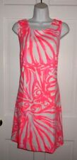NWT LILLY PULITZER PINK SUN RAY SHIMMY SHIMMY CALLIE SHIFT DRESS LARGE