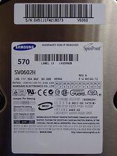 60GB Samsung SV0602H | S/N: 0451J1FW218073 V6060 | 2003.02  #570