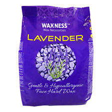 Waxness Polymer Blend Premium Luxury Face Hard Wax Beads with Lavender Oil 0.8Lb