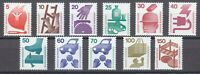 Germany 1971-74 MNH Mi 694-703,773 Sc 1074-1085 Accident prevention ** Full SET