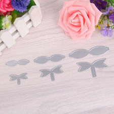 Bowknot Cutting Dies Stencil DIY Scrapbook Album Paper Card Embossing Tool Decor