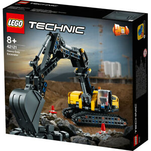 LEGO 42121Technic Heavy-Duty Excavator Building Set 569 Pieces Ages 8+