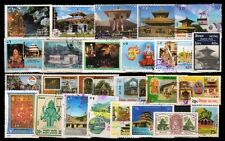 Hindu Mythology God & Goddess Temple of Nepal-25 All Different Used Stamps