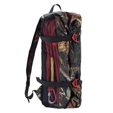 Outdoor Rock Climbing Rope Equipment Storage Bag w/ Groundsheet & Shoulder Strap