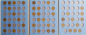 1899 to 1980 United States One cent Starting set of 124 different