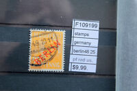 STAMPS GERMANY BERLIN 1948 25 PF.RED USED (F109199)