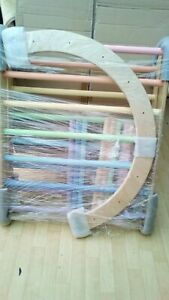 B.N .Pastel  Coloured    Pikler Style triangle with 2 boards  +  Arch /Rocker