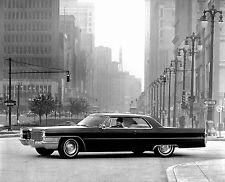 1965 Cadillac Coupe Deville press photo Detroit  8 x 10 Photograph