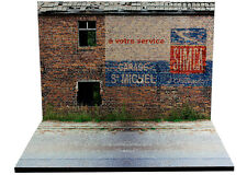 """Diorama présentoir Publicité murale """"Simca"""" - 1/43ème- #43-2-B-B-014"""