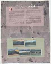 Australien Nr. 1301-1305 postfrisch / **, Weinanbaugebiete im Folder (25813)
