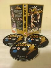 WCW Best of Clash of the Champions (3-disc DVD set) WWF WWE NWA