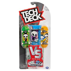 Tech Deck V's series Blind, Santa Cruz, Toy Machine FREE J&J'S STICKER