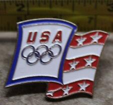 USA Flag Olympics Collectible Pin
