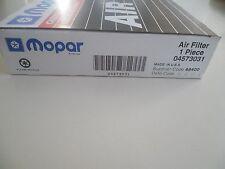 Mopar OEM Air Filter 04573031 6080 A24819 46080 CA7414 (A100)