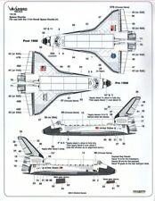 NEW 1:144 Warbird Decals 14005 Space Shuttle Tile, Nose, Engine Details Part II