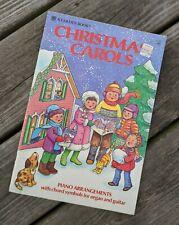 Vintage 1981 (Whitman) Christmas Carols Songbook Book, Piano, Organ, Guitar