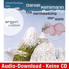 Hörbuch-Download (MP3) ★ Daniel Kehlmann: Die Vermessung der Welt
