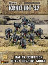 Italian Centurion Heavy Infantry Squad *Konflikt '47* Warlord Games