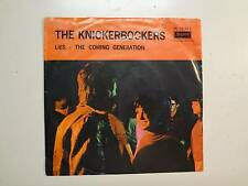 """KNICKERBOCKERS: Lies 2:40-The Coming Generation-Holland 7"""" London HL 10013 PSL"""