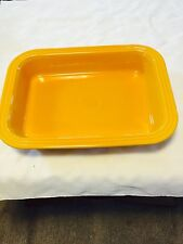 FIESTA NEW MARIGOLD GOLDEN YELLOW RECTANGULAR BAKER BAKING DISH FIESTAWARE