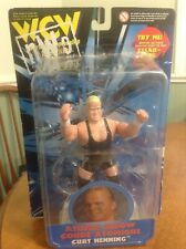 WCW ATOMIC ELBOW CURT HENNING (AKA MR. PERFECT), SAN FRANCISCO TOYMAKERS, NIB