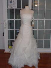 San Patrick Bridal Gown- Style Papua- Size 10-Off White- MR23